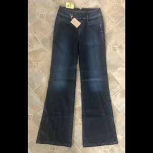Silver Debbie Wideleg Flare Jeans Brand new